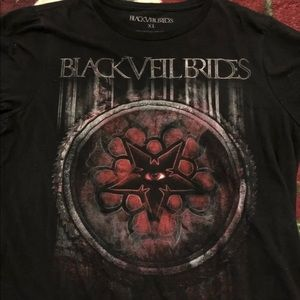 Black Veil Brides BVB star band shirt